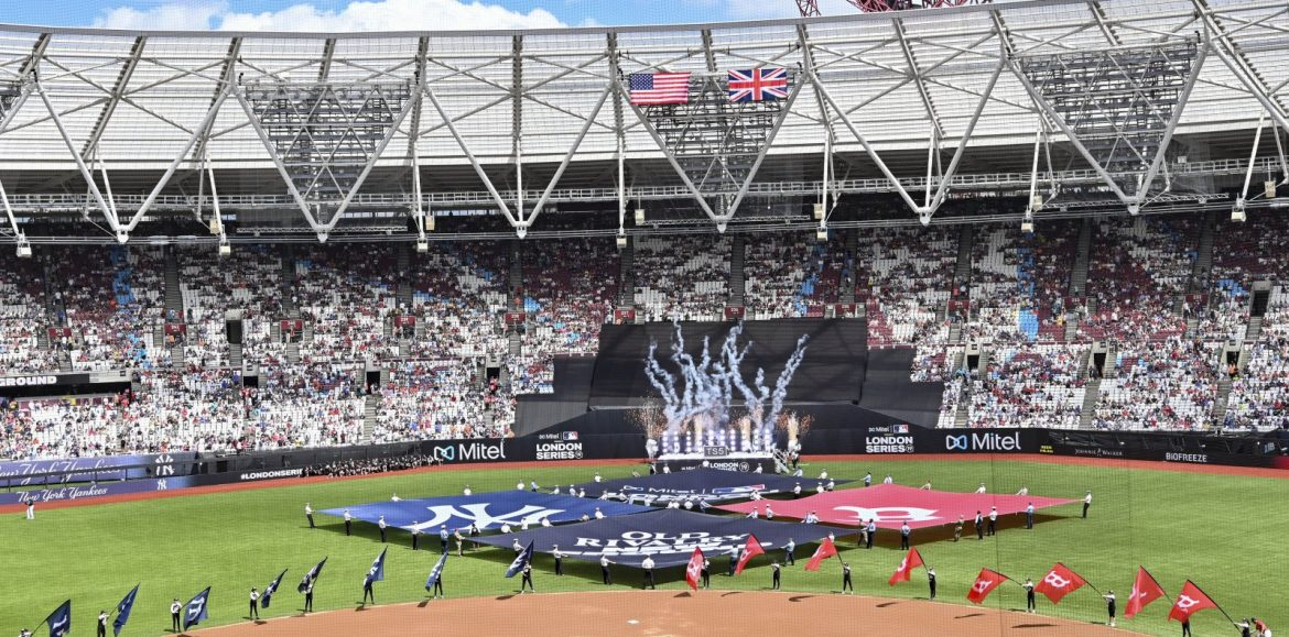 MLB posts good numbers for London Series as it looks to expand to into the UK and Europe
