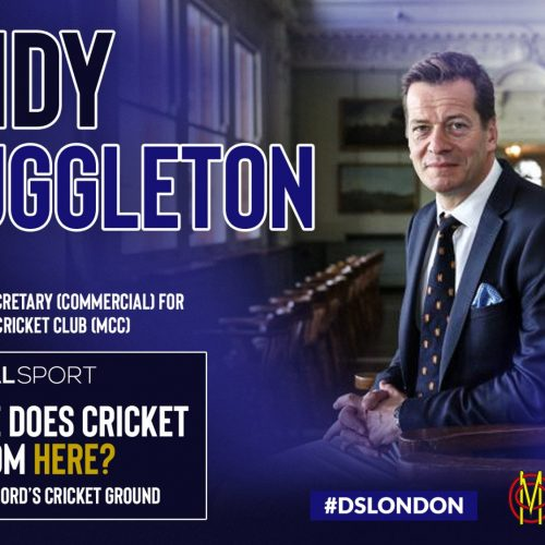 Where does cricket go from here? Meet our second panellist: The MCC's Andy Muggleton
