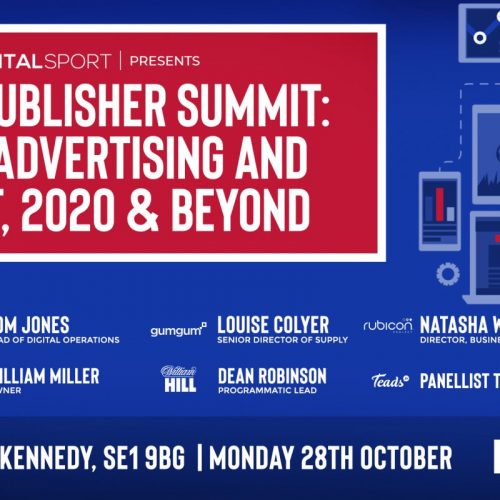 Our next event: Sports Publisher Summit
