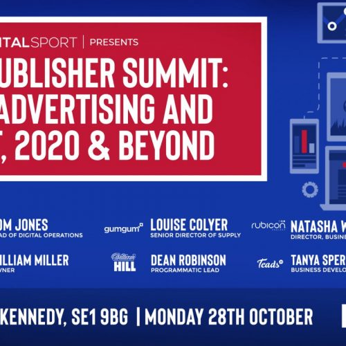 Our next event: Sports Publisher Summit, Digital Advertising and Content, 2020 & Beyond