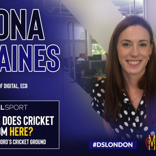 Where does cricket go from here? Meet the Head of Digital at the ECB, Fiona Staines