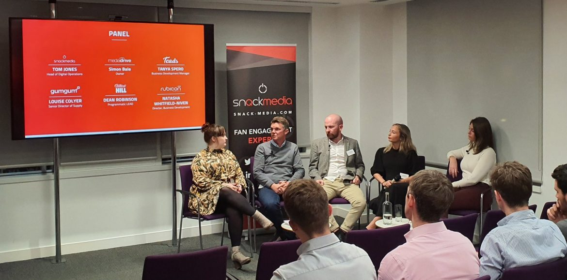A little more about our Sports Publisher Summit partner: Snack Media