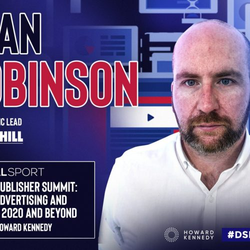 Introducing William Hill's panellist for the Sports Publisher Summit: Dean Robinson