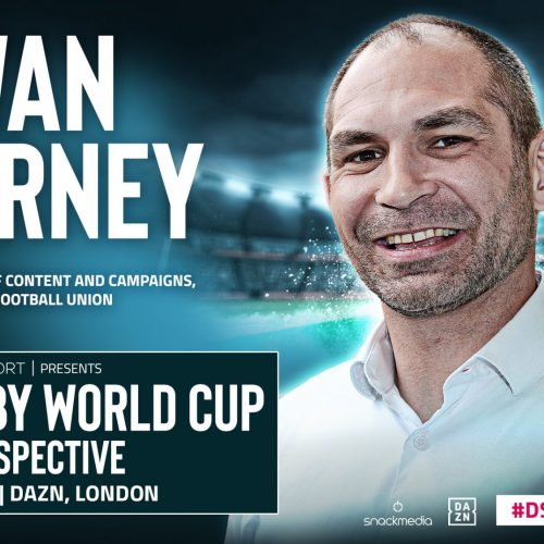 RFU's Ewan Turney speaks ahead of the Rugby World Cup Retrospective