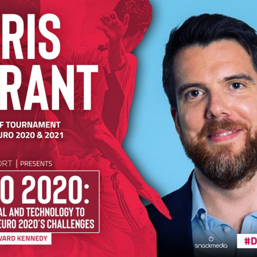 Introducing our second panellist for our Euro 2020 event: The FA's Chris Bryant